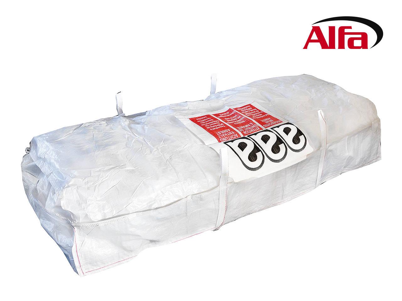 alfa plattensack asbest zur entsorgung von wellplatten. Black Bedroom Furniture Sets. Home Design Ideas